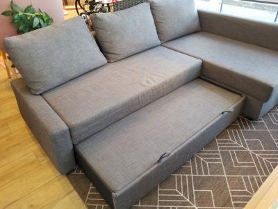 IKEA / イケア FRIHETEN / フリーヘーテン 収納付き コーナーソファベッド
