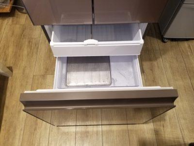 SHARP / シャープ 415L 4ドア 冷蔵庫 SJ-GT42C どっちもドア プラズマクラスター