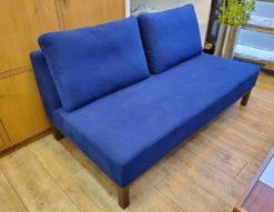 NOYES ノイエス Garden ガーデン 2シーター ソファ 2人掛け ブルー アームレス 肘掛けなし 北欧 インパクト かわいい おしゃれ