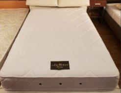 in The ROOM インザルーム セミダブルベッド 跳ね上げ式 跳ね上げベッド セミダブルサイズ 横開き ホワイトカラー レザー調 合皮 高級感