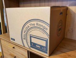 新品 未使用 未開封 BALMUDA バルミューダ オーブンレンジ TheRange ザレンジ デザイン家電 キッチン家電 シンプル ブラック 操作音 おしゃれ お洒落 かっこいい コンパクト スマート 箱入り