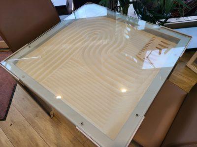 lapalma / ラパルマ Dune ダイニングテーブル サンドアート イタリア製