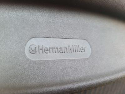HermanMiller / ハーマンミラー AeronChair / アーロンチェア ランバーサポート グラファイトカラー