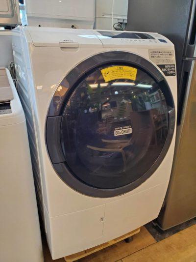 HITACHI 日立 ドラム式洗濯乾燥機 2019年製 ビッグドラム ヒートリサイクル 風アイロン 高年式 ドラム式洗濯機 ドラム式 美品