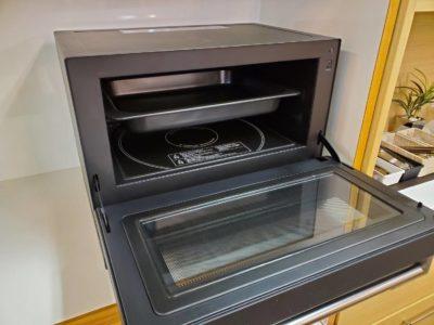 Balmuda バルミューダ ザレンジ オーブンレンジ シンプル機能 シンプルデザイン お洒落 カッコいい デザイン家電 黒 あたため オーブン機能 調節可能