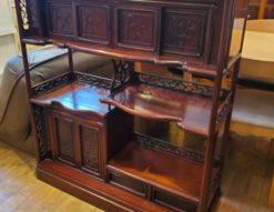 茶箪笥 茶棚 和室 和家具 和茶棚 レトロ 飾り棚 和モダン おしゃれ サイドボード
