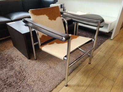 ル・コルビジェ LC1 スリングチェア 1人掛チェア ポニースキン ハラコ デザイナーズ家具 リプロダクト