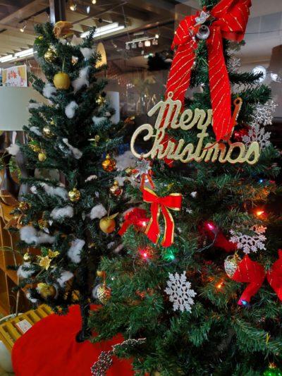 クリスマスツリー オーナメント ライト 照明付 飾り付き お得 お買い得 オススメ コンパクト 綿付き オーナメントセット ライトセット もみの木 12月24日 12/24 12月25日 12/25 MerryChristmas MerryXmas オススメ 中古