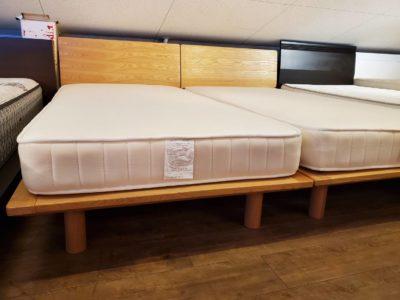 Muji 無印良品 無印 シングルサイズベッド Sサイズ ナチュラルテイスト 二台 二本 シングル2本 シングル2台 ベッド