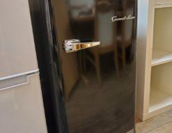 A-Stage Grand-Line グランドライン 60L 1ドア 冷凍庫 フリーザー 2019年製 高年式 前開き レトロ モダン インダストリアル 2台目 メンズライク かわいい かっこいい オールドブラック コンパクト オシャレ インテリア ステイホーム 食品のストック レトロ感