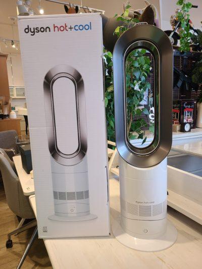 ⅾyson Hot+Cool ファンヒーター AM09 WN ホワイト/ニッケル 暖房器具 扇風機