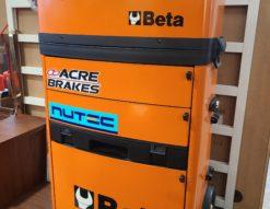 Beta / ベータ ツールボックス 工具箱 ツールトローリー C41H オレンジ キャリータイプ