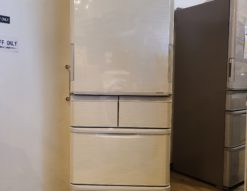 SHARP / シャープ 412L 5ドア冷凍冷蔵庫 SJ-W411F どっちもドア プラズマクラスターイオン 2020年製