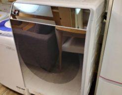 SHARP シャープ 11.0/6.0㎏ ドラム式洗濯乾燥機 2018年製 ガラストップ マイクロ高圧洗浄 大容量 右開き プラズマクラスター ハイブリッド乾燥 洗濯11㎏ 乾燥6㎏ ドラム式洗濯機