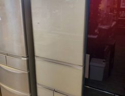 HITACHI 日立 401L 5ドア 冷蔵庫 2019年製 右開き 真ん中野菜室 大容量 高年式 新しい リサイクルショップ 中古品 再良市場 天白区 名東区 焼山 高針 おススメ ガラストップ ガラスドア タッチオープン 自動製氷