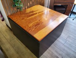 Landscape Products テーブルセット ランドスケーププロダクツ テーブル チェア 椅子 イス 4脚 テーブル&チェアセット インダストリアル カフェ風 モダン 革新的 おしゃれ 四角 三角 正方形 ダイニング リビング 作業台 コンパクト 収納