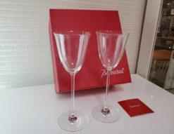 Baccarat バカラ Fiora フィオラ ワイングラス ウォーターゴブレット ペアグラス ゴブレット クリスタル 有名メーカー イタリア Italy オシャレ ペアワイングラス ペアゴブレット タンブラー 箱あり 箱入り