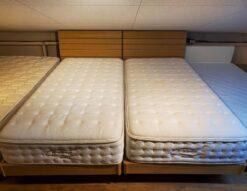 シングルベッド ニトリ NITORI N-sleep Nスリープ 柔らかめ 2本 2つ 2個 2セット ナチュラル 同型 キレイ おススメ セットがいい シングルサイズ ベッド Sサイズ