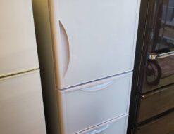HITACHI 日立 265L 3ドア 冷蔵庫 2019年製 真空チルド まんなか野菜室 右開き クリスタルホワイト ホワイト ガラストップ クリスタルドア キレイ 美品 新しい 高年式