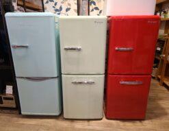 お洒落なデザイン冷蔵庫 DAEWOO 150L 2ドア冷蔵庫 DR-C15AM  e angle 149L 2ドア冷蔵庫 ANG-RE151