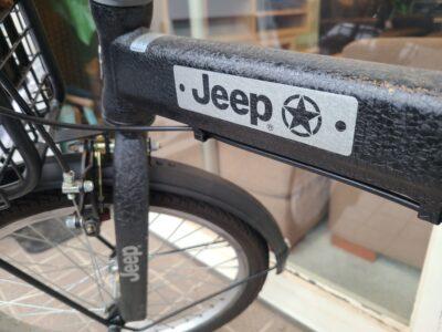 Jeep / ジープ 20インチ 折り畳み自転車 シマノ6段変速 2020年モデル