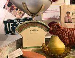 イギリス アンティーク SALTER*キッチンスケール 買取しました!