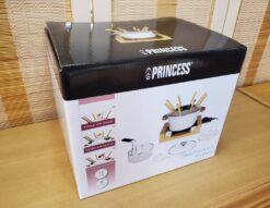 PRINCESS プリンセス Table Fondue & Fly Pure テーブルフォンデュ&フライピュア 未商品 新品 箱入り スタイリッシュ オシャレ 卓上電気鍋 卓上ポット 卓上フォンデュ セラミック