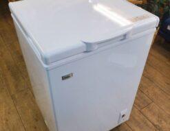 Haier ハイアール 103L 冷凍庫 フリーザー 2019年製 高年式 美品 キレイ 上開き 1ドア コンパクト 出し入れが楽 使いやすい 冷凍のみ ホワイト 新しい 中古品