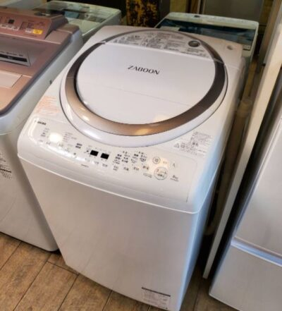 TOSHIBA 東芝 8.0/4.5㎏ 8.0㎏ 4.5㎏ 洗濯乾燥機 ZABOON ザブーン タテ型洗濯機 タテ型洗濯乾燥機 2018年製 高年式 ザブーン洗浄 乾燥付き 洗濯機 大容量