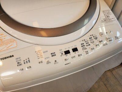 toshiba 東芝 トーシバ 8/4.5㎏ 8㎏ 4.5㎏ 洗濯乾燥機 洗濯機 乾燥機能付き洗濯機 縦型洗濯機 縦型 洗濯機 2018年 乾燥機能 衣類乾燥 乾燥機 全自動洗濯機 リサイクルショップ 再良市場 天白区 名東区 リサイクル 買取 出張買取 販売 年式 型番でわかる