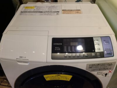 HITACHI / 日立 ビッグドラム 10K/6K ドラム式洗濯乾燥機 2018年製 BD-SG100B
