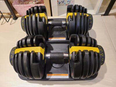 重量ダイヤル可変式 ダンベル ウェイトトレーニング トレーニングマシン
