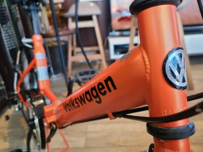 Volkswagen / フォルクスワーゲン 20インチ 折り畳み自転車 オレンジ