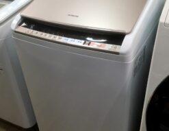 HITACHI*8K/4,5Kタテ型洗濯乾燥機(BW-DV80B,2018年製)買取しました!