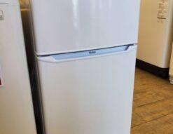 新品 未使用 未使用品 Haier ハイアール 85L 2ドア 冷蔵庫 2019年式 高年式 直冷式 コンパクト 小型冷蔵庫 単身用 一人暮らし 1人暮らし サブ 2台目 おススメ 美品 新古品 キレイ ホワイト 白