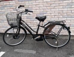 エナシス サイクリング 自転車 電動自転車 ブラウン