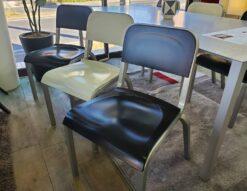 emeco エメコ 1951 Stacking Chair スタッキングチェア ダイニングチェア アルミニウム 積み重ね式 プラスチック レストラン オフィス 希少 レア レトロ ヴィンテージ クラシック モダン 軽量 インダストリアル 無骨 BMW Designworks USA 復刻 リプロダクト リデザイン シンプル おススメ 6脚セット インテリア ディスプレイ おしゃれ オシャレ カッコいい