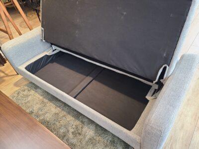 unico / ウニコ CORCA / コルカ 収納付き ソファベッド 3シーターソファ 座面下収納