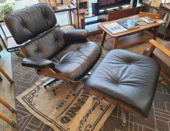 Eames / イームズ 本革 ラウンジチェア&オットマン デザイナーズ家具 リプロダクト品