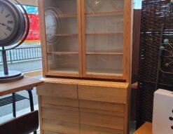 unico / ウニコ TUO / トゥオ カップボード 食器棚 アルダー材 無垢材家具