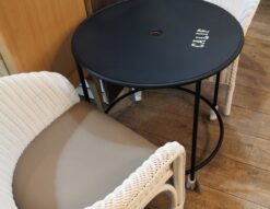TOHMA 東馬 Cafe table Rattan chair NOREVA