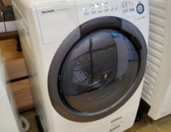 SHARP シャープ 7.0/3.5㎏ ドラム式洗濯乾燥機 2019年製 高年式 コンパクト 左開き プラズマクラスター DDインバーター 7.0㎏ 3.5㎏ 7/3.5㎏ ドラム式洗濯機 洗濯乾燥機 オススメ おすすめ