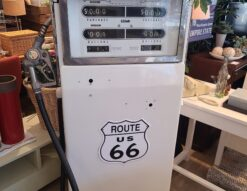 ROUTE66 / ルート66 給油機オブジェ ガソリンポンプ 当時物 リメイク品 レトロ ヴィンテージ アメリカン雑貨