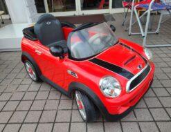 AVIGO / アビーゴ MINI COOPER S / ミニクーパーS レッド 電動乗用玩具 子供用自動車