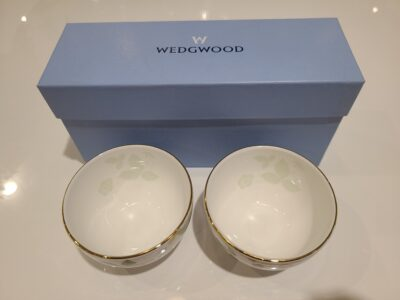 WEDGWOOD / ウエッジウッド ワイルドストロベリー ジャパニーズティーカップ ペア 湯呑