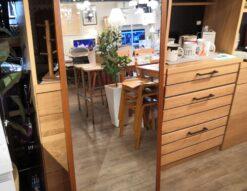 Karimoku Stand mirror Oak Vintage teak