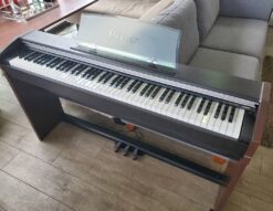 CASIO カシオ 電子ピアノ Privia プリヴィア 楽器 88鍵 デジタルピアノ 2007年製 ちょっと古い タッチレスポンス ピアノ レッスン ペダル スタンド一体型 デモ曲 オススメ コンパクト スリム
