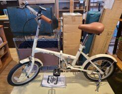 【新品・未使用品】 SimpleStyle / シンプルスタイル 16インチ 折り畳み自転車 FV16 SS-H16