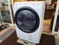 SHARP / シャープ プラズマクラスター 7.0K/3.5K ドラム式洗濯乾燥機 コンパクトドラム 2021年製 ES-S7E