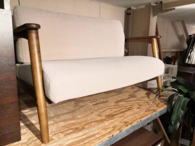 sofa 2 seater beige 1
